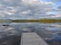 Chalet aux huards à louer bord du lac aux Araignées dans les Catons de l'Est accessible motoneiges près du Mont-Mégantic et Sugarloaf